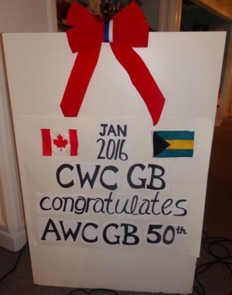 CWC & 50th. AWC @ Taino, January 2015 001