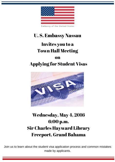 Student Visa Presentation - Grand Bahama